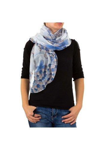 BEST FASHION Damen Schal von Best Fashion Gr. one size - blancbleu