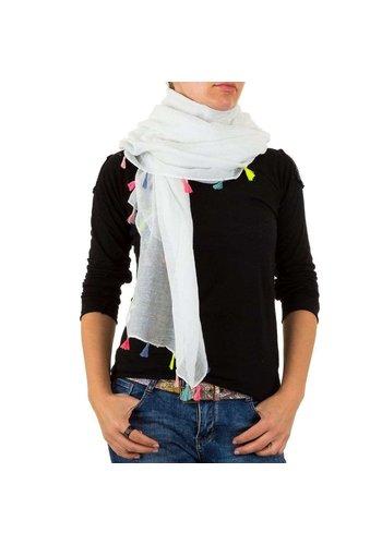 BEST FASHION Damen Schal von Best Fashion Gr. one size - white