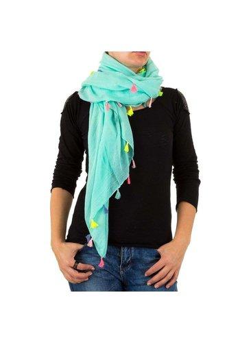 BEST FASHION Damen Schal von Best Fashion Gr. one size - turkis