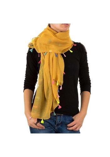 BEST FASHION Damen Schal von Best Fashion Gr. one size - senf