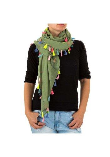 BEST FASHION Damen Schal von Best Fashion Gr. one size - oliv