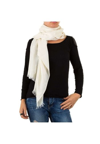 BEST FASHION Damen Schal von Best Fashion Gr. one size - weiß