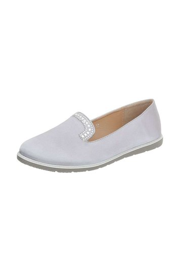 D5 Avenue Damen Slipper - silver