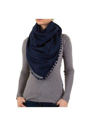 BEST FASHION Damen Schal von Best Fashion Gr. one size - D.blau