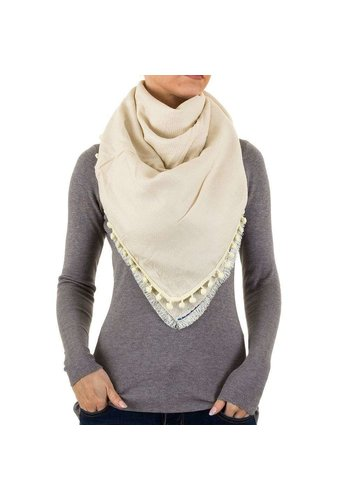 BEST FASHION Damen Schal von Best Fashion Gr. one size - cream