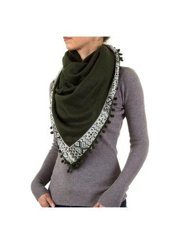 BEST FASHION Damen Schal von Best Fashion Gr. one size - DK.green
