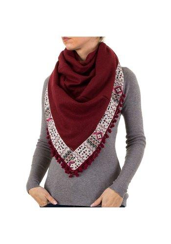 BEST FASHION Damen Schal von Best Fashion Gr. one size - bordeaux