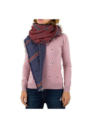 BEST FASHION Damen Schal von Best Fashion Gr. one size - bluered