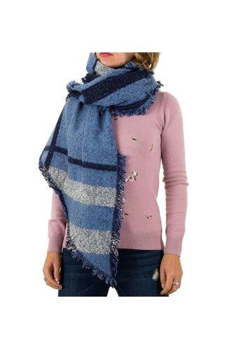 BEST FASHION Damen Schal von Best Fashion Gr. one size - blau