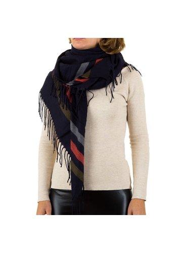 BEST FASHION Damen Schal von Best Fashion Gr. one size - blue