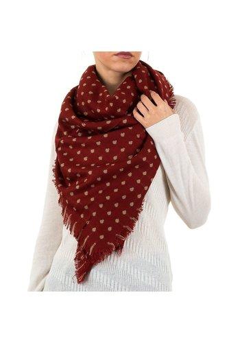 BEST FASHION Damen Schal von Best Fashion Gr. one size - red