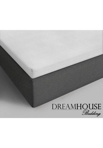 Dreamhouse Cotton Topper Spannbetttuch Weiß