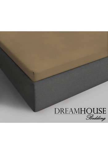 Dreamhouse Katoenen Topper Hoeslaken Taupe