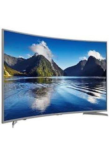 HiSense Hisense H55MEC5650 140 cm (55 Zoll) Curved Fernseher (Ultra HD, Triple Tuner, Smart TV) [Energieklasse A]