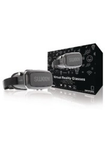 Sweex Virtual-Reality-Brille Schwarz / Silber