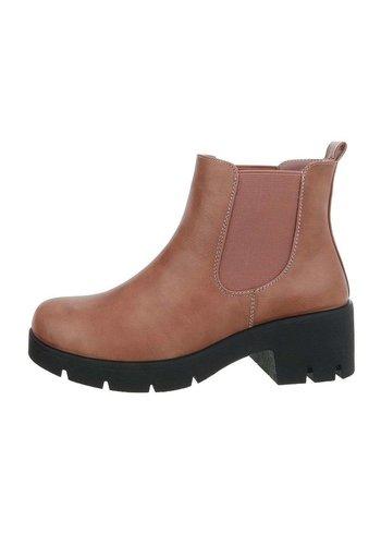 D5 Avenue Damen Chelsea Boots - rose