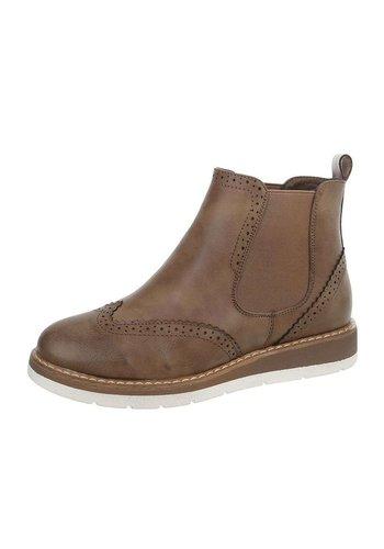 D5 Avenue Damen Chelsea Boots - khaki