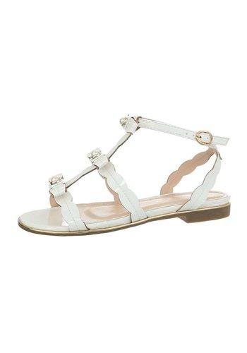 D5 Avenue Damen Sandalen - weiß