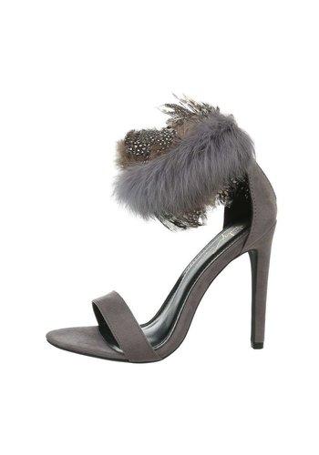D5 Avenue Damen High-Heel Pumps - grey