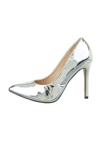 D5 Avenue Damenschuhe mit hohem Absatz - Silber