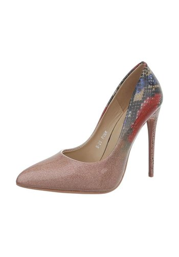 D5 Avenue Damen High Heels Pumps - rose