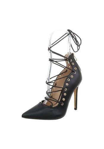 D5 Avenue Damen High Heels Pumps - schwarz
