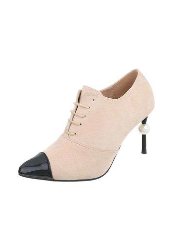 D5 Avenue Damen Schuhe mit hohen Absätzen - beige