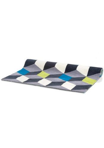 D5 Avenue Teppich - 3D-Blöcke - 160x230 cm
