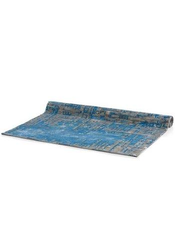 D5 Avenue Teppich - grau / blau - 160x230 cm