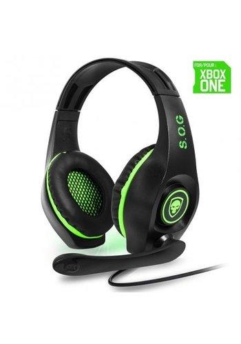 Spirit of Gamer Pro-XH5 XBOX One-Gaming-Headset - Grün