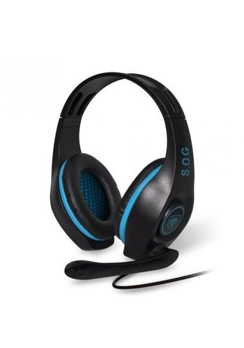 Spirit of Gamer Pro-H5 PC-Gaming-Headset - Blau