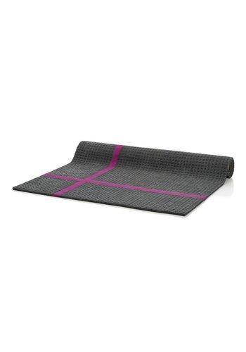 D5 Avenue Teppich - grau / fuchsia - 160x230 cm