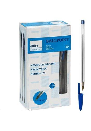 D5 Avenue Kugelschreiber blau 30 Stück