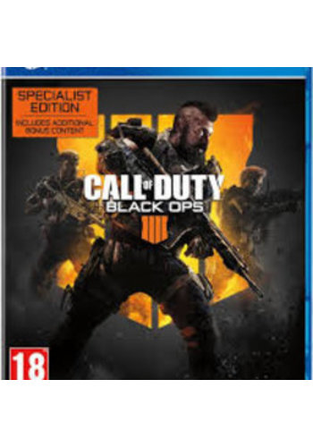 PS4 Call of Duty: Black Ops 4 - Spezialausgabe - PS4