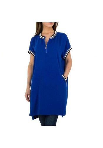 JCL Damen Tunika von JCL - blau
