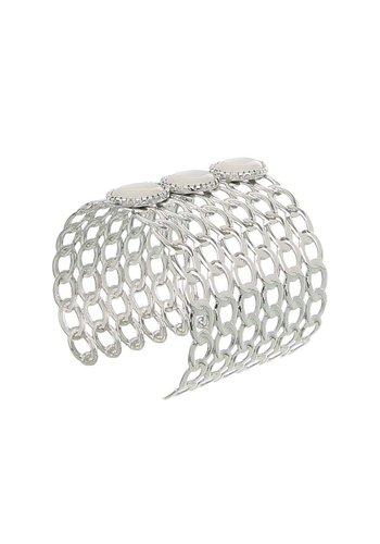 D5 Avenue Damenarmband-Silber