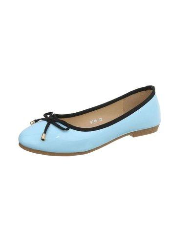 D5 Avenue Damen Ballerinas -H.blau