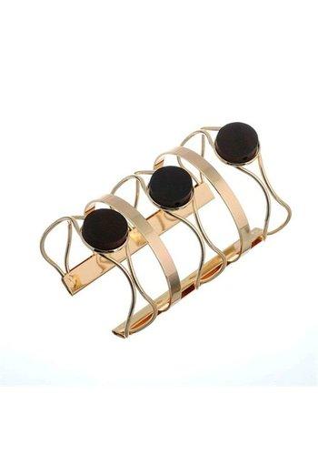 D5 Avenue Damen Armband-gold