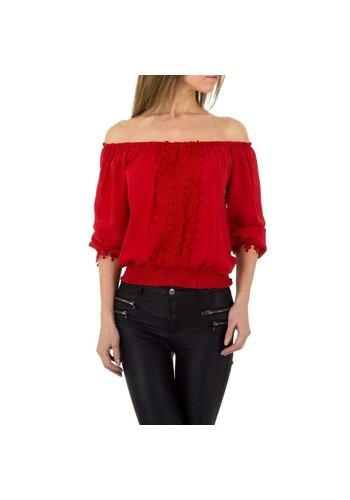 D5 Avenue Damen Bluse von Emmash Paris - rot