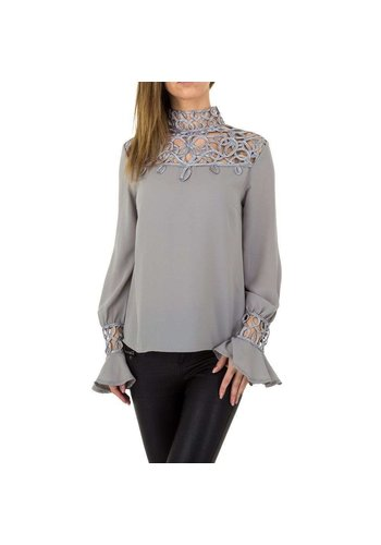 D5 Avenue Damen Bluse von Emmash Paris - grau