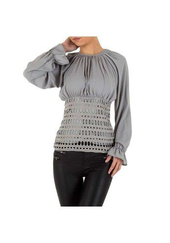 D5 Avenue Damenhemd von Emmash - grau