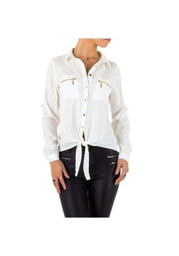 D5 Avenue Damen Shirt Bluse von Milas - weiß