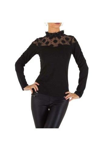 D5 Avenue Damen Bluse von Emmash -schwarz