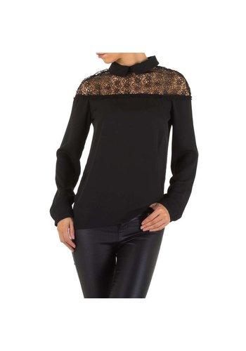 D5 Avenue Damen Bluse von Emmash - schwarz
