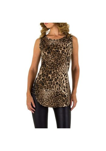 EMMA&ASHLEY Damenlange Bluse von Emma & Ashley - Leopard
