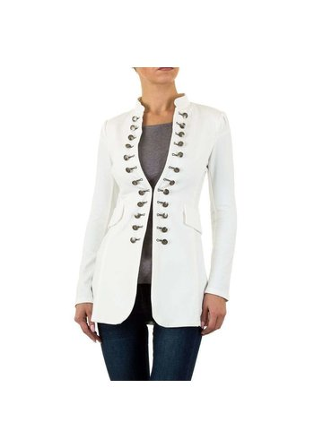 D5 Avenue Damen Jacke - white