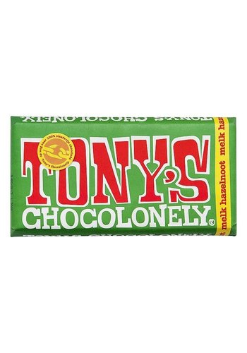 Tony's Chocolonely Milch Haselnuss - 180g