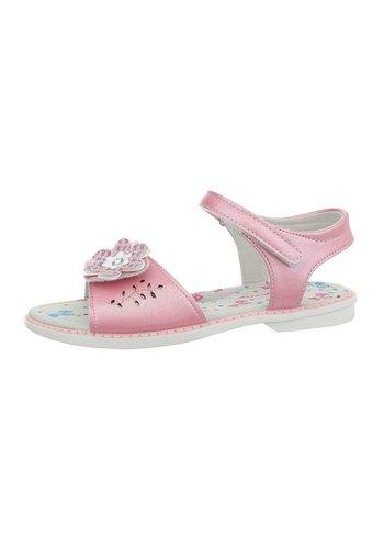 D5 Avenue Kinder Sandaletten - pink