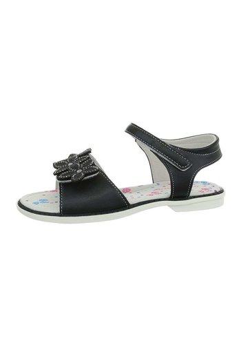 D5 Avenue Kinder Sandaletten - schwarz