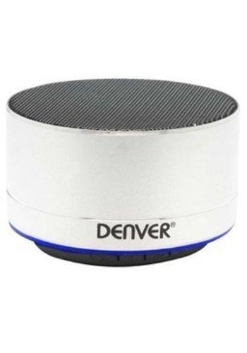 Denver Kabelloser Bluetooth-Lautsprecher - Silber